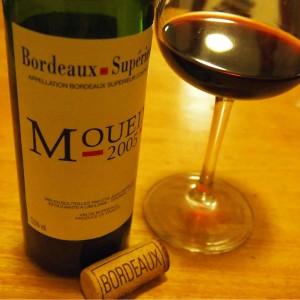 【ワイン】J.P.ムエックス・ボルドー・シューペリュール 2005年・クリスチャン・ムエックス飲んだ