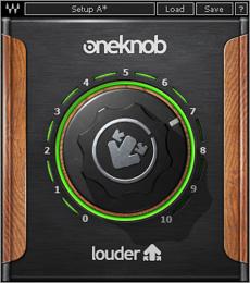まるで小さなL3。マルチバンドコンプ+マキシマイザーのWaves OneKnob Louder は簡単に音圧が上げられるし軽い
