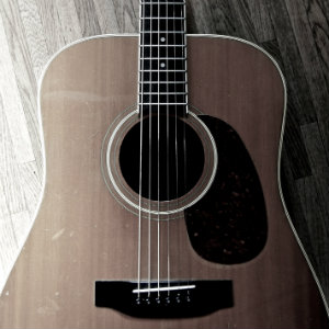 【アコースティックギター】モーリス W-25(Acoustic Guitar Morris W-25)使ってるよ