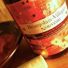 【ワイン】ボージョレ・ヴィラージュ・ヌーヴォー2012 スペシャル・アッサンブラージュ (Beaujolais-Villages Nouveau)飲んだ