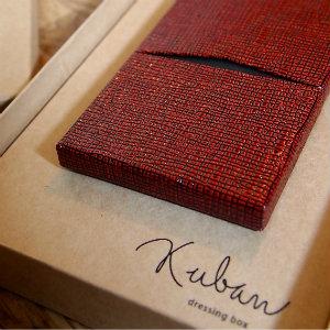 職人が作る張り箱名刺入れ「空万(kuban)」買ったよ