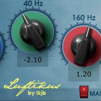 Maag Audio EQ4をモデリングしたフリープラグイン「luftikus」で超高域がブーストできる