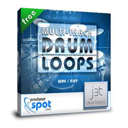 パラデータで配布している無料の生ドラムループ集「J3T Drum Tracks」を音作りの参考にしてみる