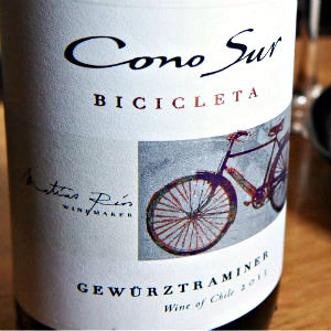 カレーに合う白ワイン。コノスル ゲヴュルツトラミネール ヴァラエタル