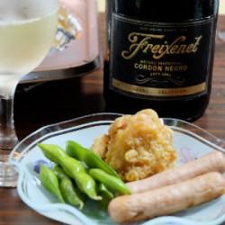 庶民のパーティーを辛口スパークリングワインで乗り切ってみよう
