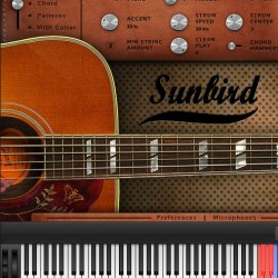 1962年製ギブソン ハミングバードを丁寧にサンプリングしたアコースティックギター音源「Sunbird」が自然すぎてすごい。