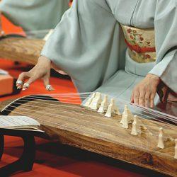和楽器、箏(琴)の生っぽい打ち込み方法まとめ。ハープ+ギターのように考えてみる。