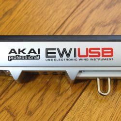 吹けないのにウインドコントローラー『AKAI EWI USB 』 をDTMに使ってみた。