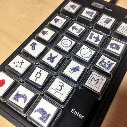 任意のキーが割り当てられるデバイス、プログラマルテンキー『NT-19UH2BK』でDAWのショートカットを使いこなす。