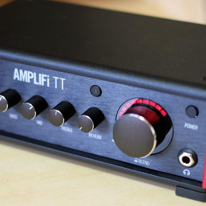DTMにも使いやすいコンパクトな卓上アンプシミュレーター、マルチエフェクター『AMPLIFi TT』