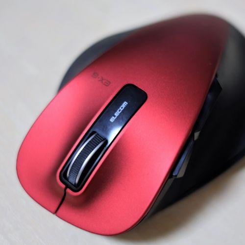 音楽制作向けにこだわって選んだマウス、エレコム『M-XGL10DBRD』