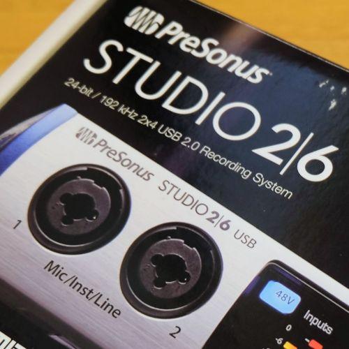 モバイル用途に最適化されたシンプルなオーディオI/O『Studio 2|6』レビュー