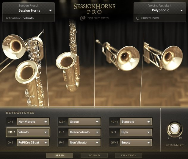 Session Horns PRO