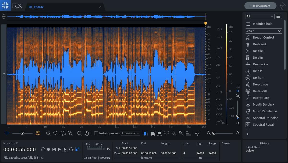 もはや必需品。万能なオーディオノイズ除去ソフト『RX7』とは。機能一覧